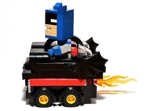 1966 batmobile lego replica boxcar