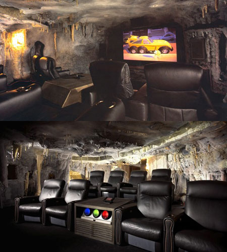 You Could Also Take A Look At This Interesting Batman Cave Theme Which Seems To Turn The Movie Watching Experience Into An Almost Bizarre