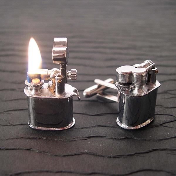 9 cufflinks lighter
