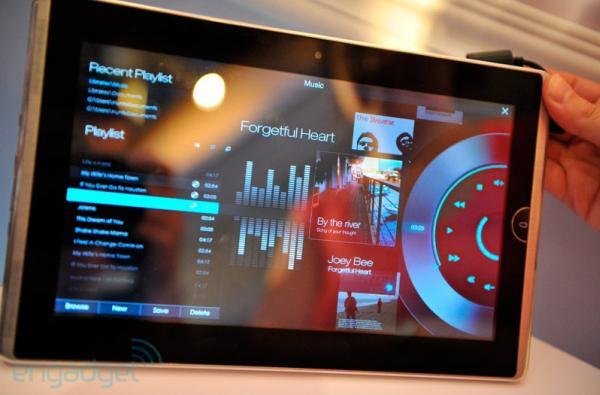 Asus EEE pad music player