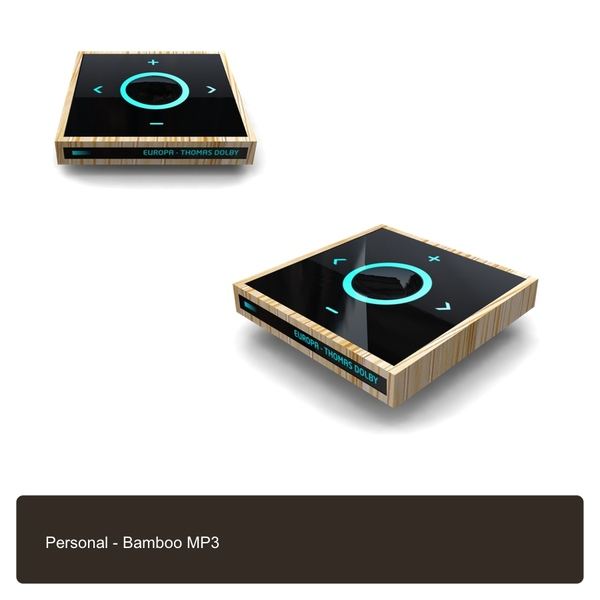Bamboo Mp3 Player