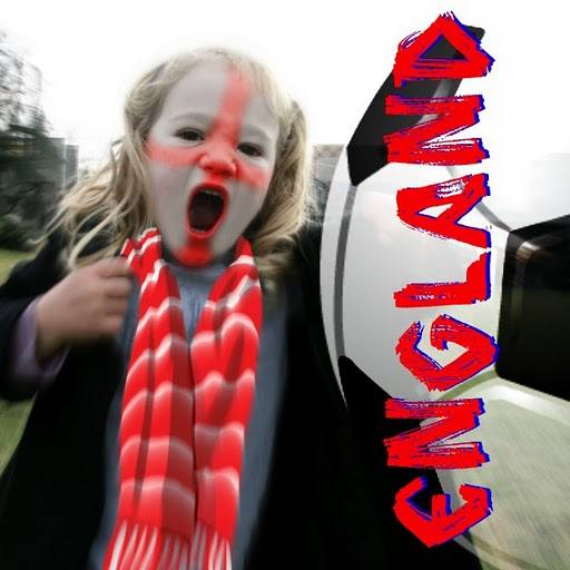 Cheering for England in 2010 FIFA World Cup