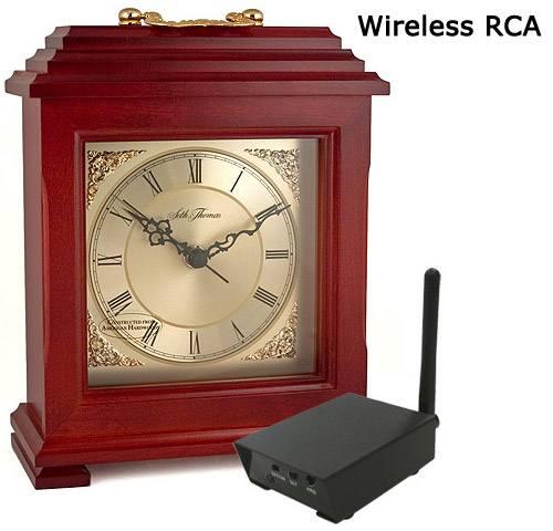 Color Wireless Mantel Clock Camera-RCA