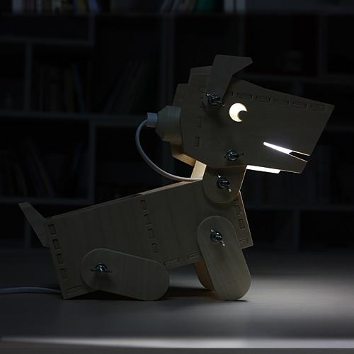 Dog lamp diy