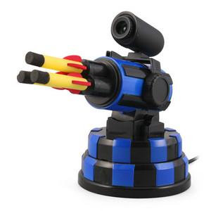 Fire Away With the USB Webcam Rocket Launcher