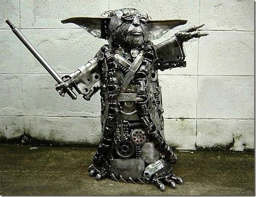 Metal Yoda