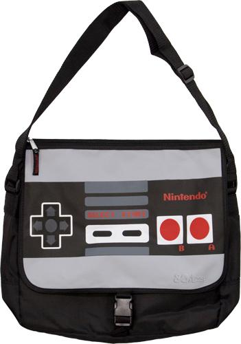 Nintendo Controller Messenger Bag for all you Game Freaks