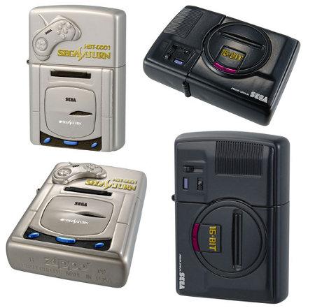 SEGA Console Zippo Lighters