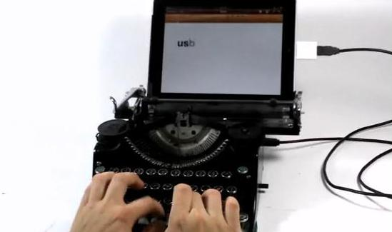 USB Typeawriter