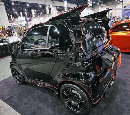 batman batmobile smart car image