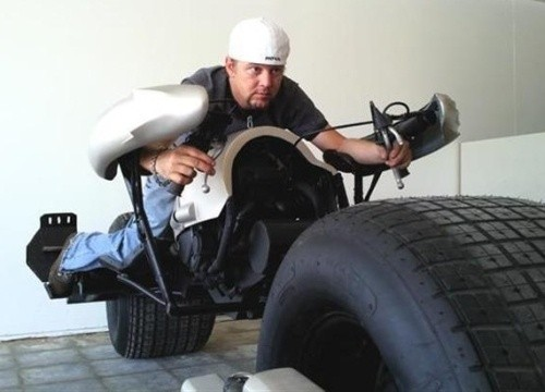 batman batpod motorcycle image