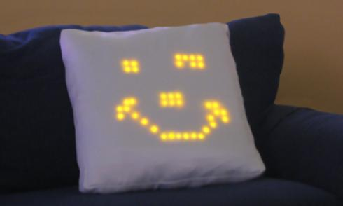 emotional interactive pillow concept