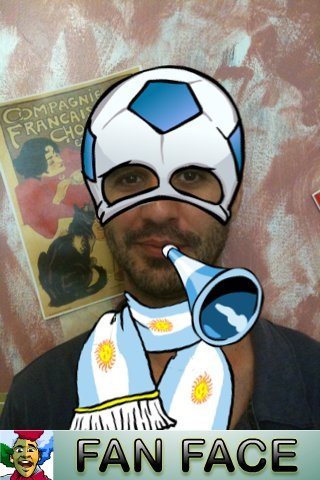 fan face 2 world cup image