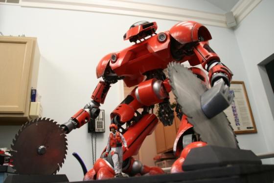 fire prevention robot model image