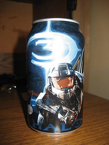 halo 3 energy drink