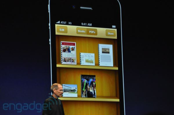 iPhone 4 iBooks