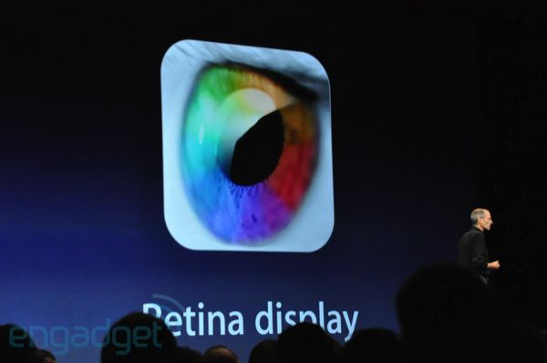 iPhone 4G Retina Display