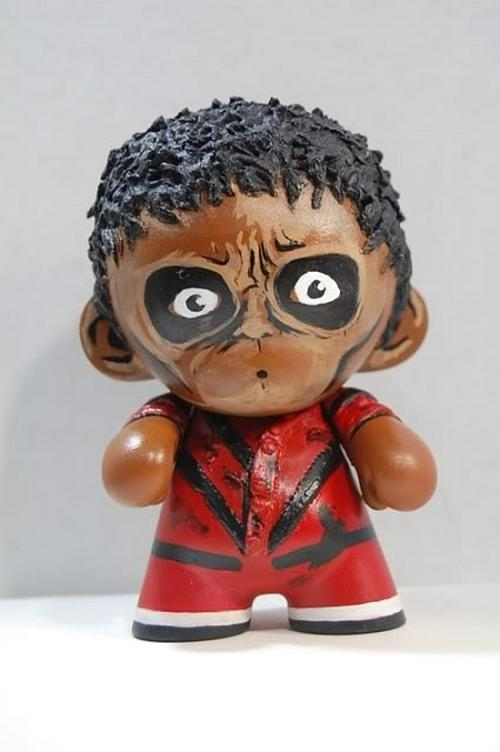 michael jackson thriller doll version tribute 1 year