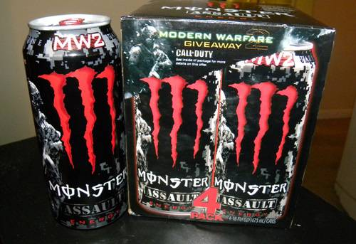 modern warfare energy drink