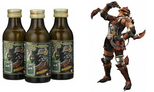 monster hunter energy drink