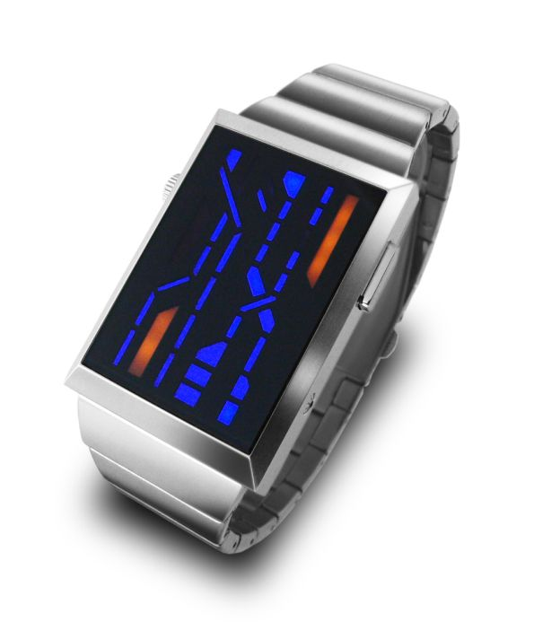 tokyoflash changing lane led watch image