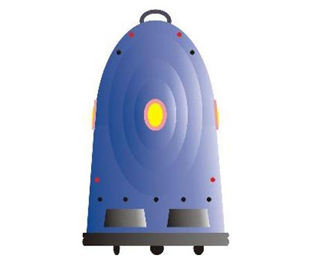 tony luggage robot image