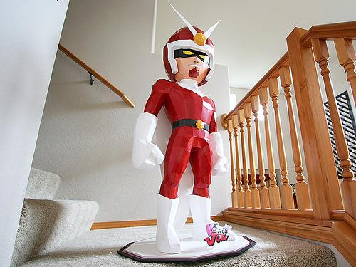 viewtiful joe papercraft