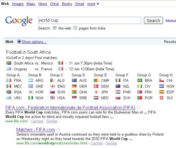 world cup google