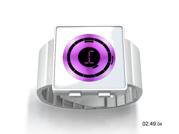 ECHO Watch puple color