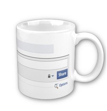 Facebook Mug For The Facebookaholic!-2