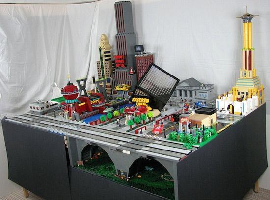 Futurama's New York Lego City A Lego Masterpiece! 2