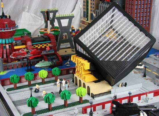 Futurama's New York Lego City A Lego Masterpiece! 3