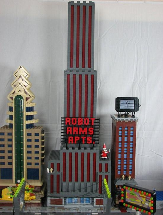Futurama's New York Lego City A Lego Masterpiece! 4