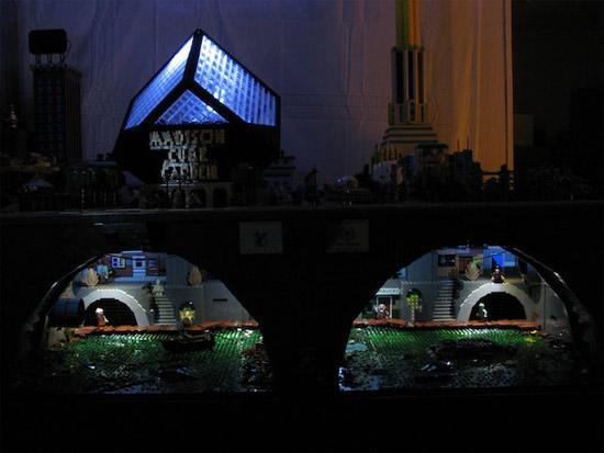 Futurama's New York Lego City A Lego Masterpiece! 6