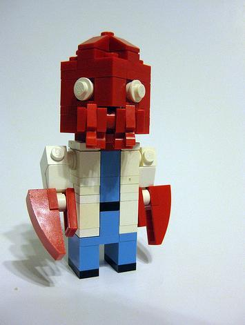 Futurama Characters Found in Lego Artwork 5