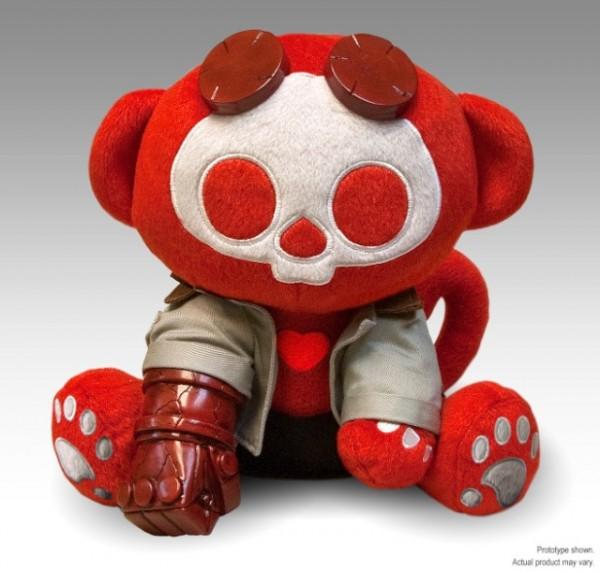 Hellboy plush