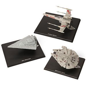 Mini Metal Version of Star War Ships