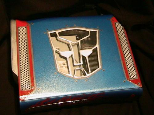Optimus prime Xbox 360 Transformed 3
