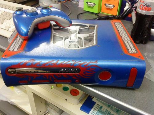 Optimus prime Xbox 360 Transformed