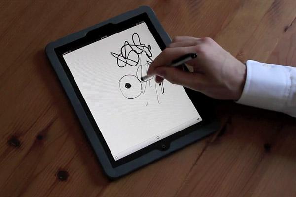 Pressure Sensitive Drawing App