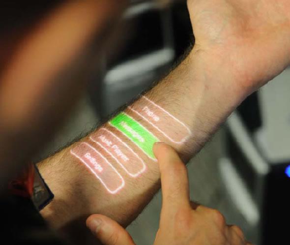 arm touchscreen