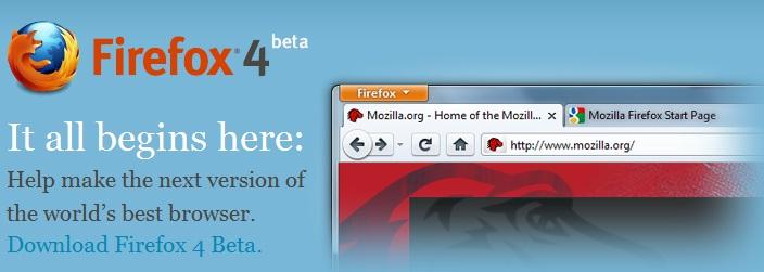 firefox 4 beta version 1 download