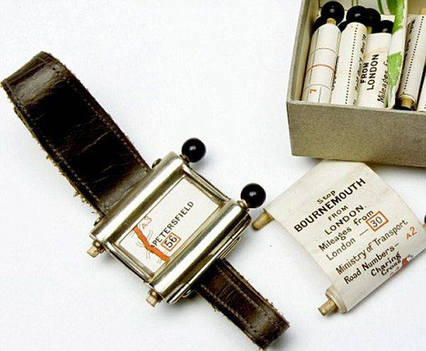 gps device from 1920 images