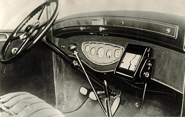 gps device from 1930 image
