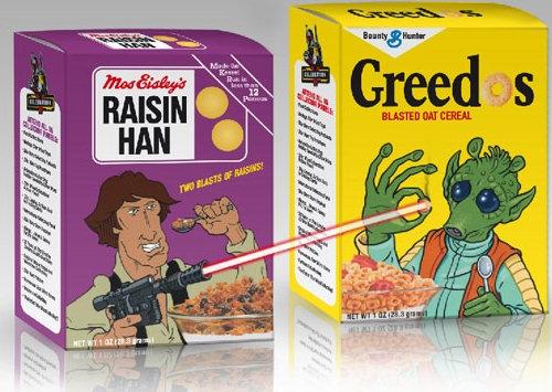 Greedo vs Han Cereal