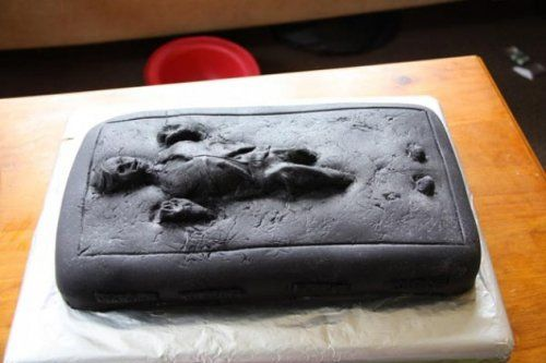 han solo frozen in carbonite cake design 2