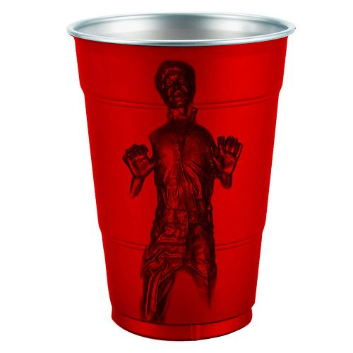 han solo frozen in carbonite plastic cup 1