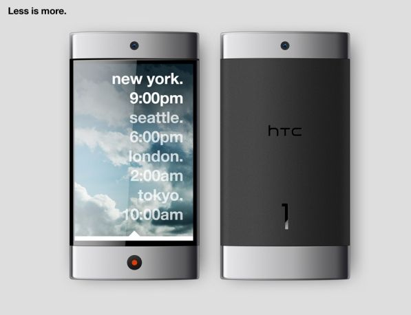 htc 1 touchscreen smartphone concept 2