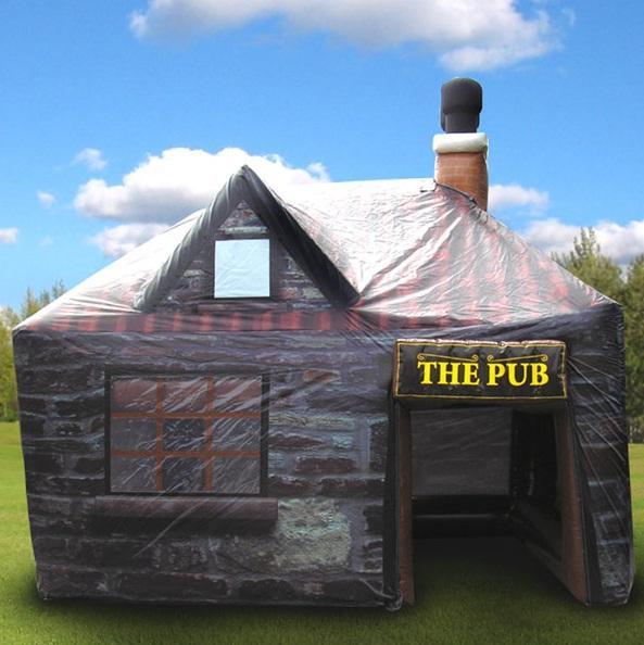 irish pub inflatable