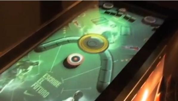 lcd pinball machine arcade game image